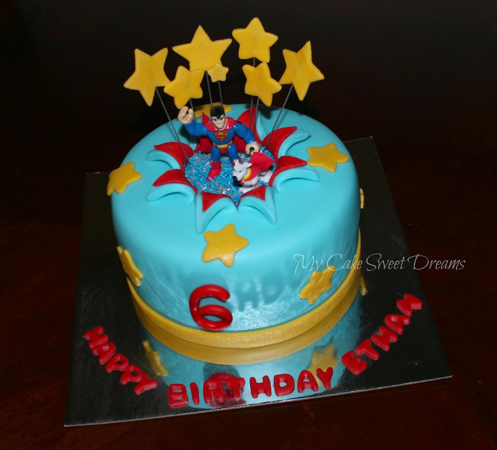 Superman Birthday Cake  My Cake Sweet Dreams Superman Birthday Cake