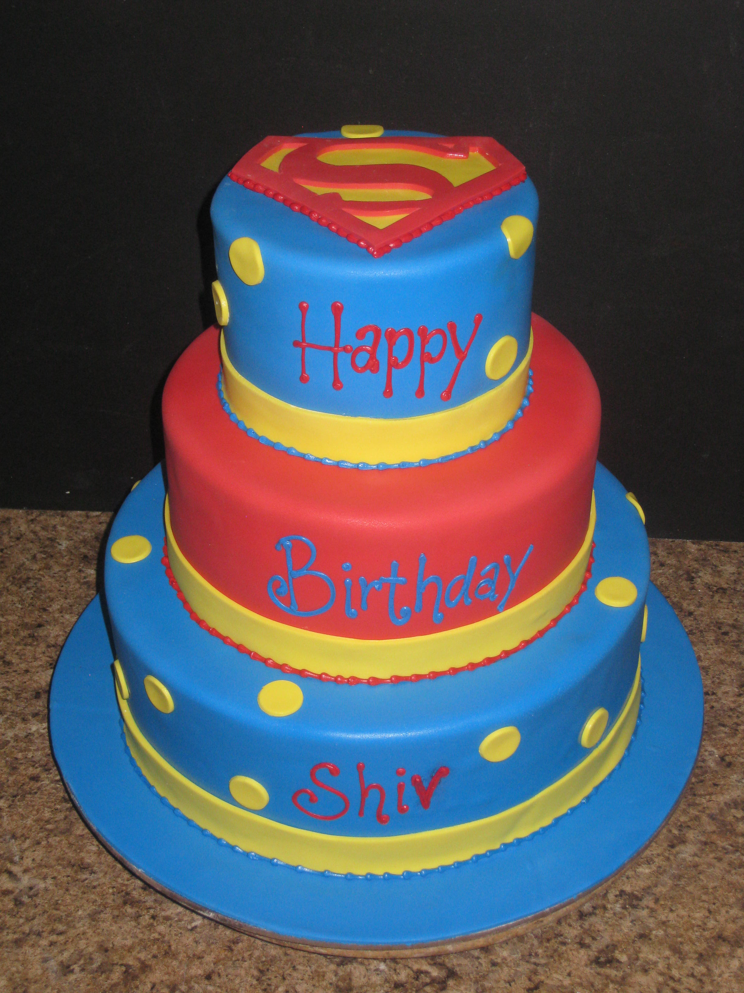 Superman Birthday Cake  Superman Cakes – Decoration Ideas