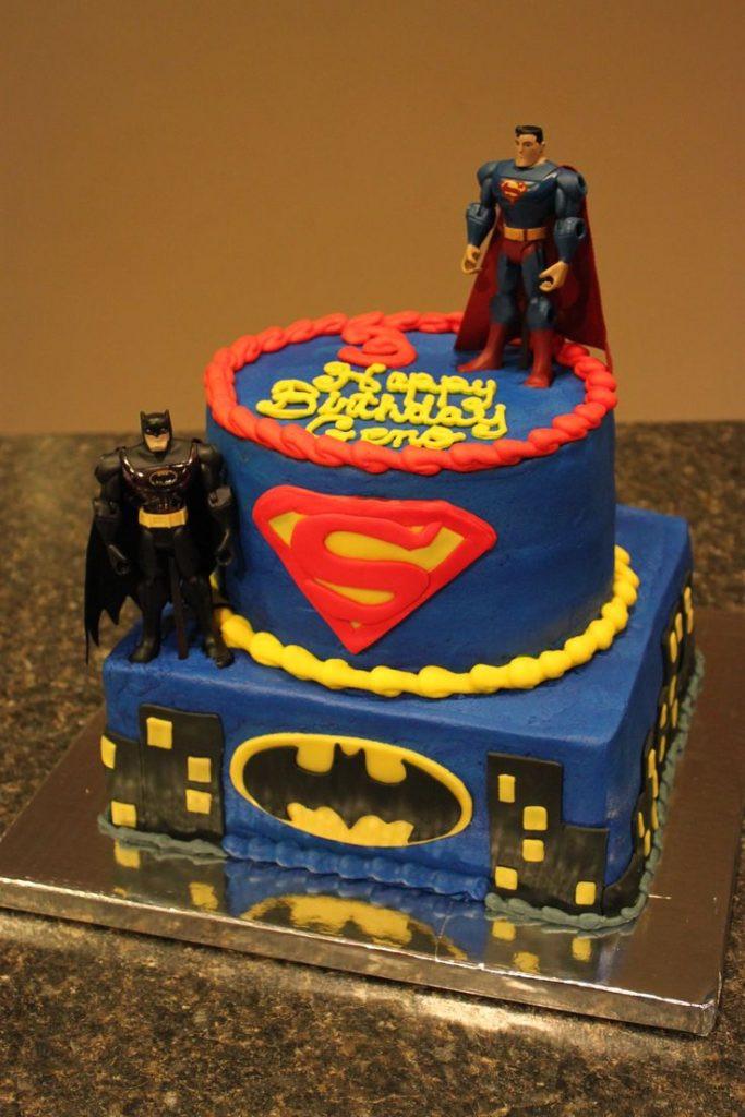 Superman Birthday Cake  Fondant Birthday Cakes Pinterest