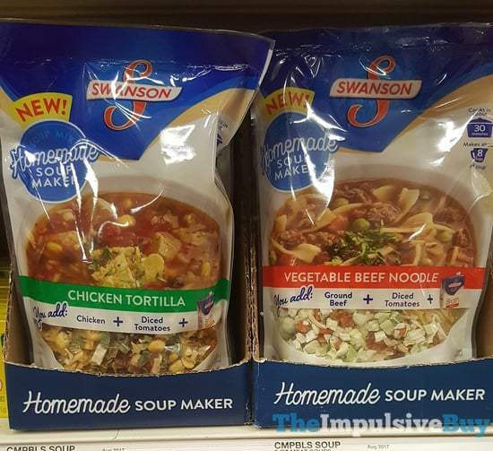 Swanson Chicken Noodle Soup  SPOTTED ON SHELVES 8 29 2017 The Impulsive Buy