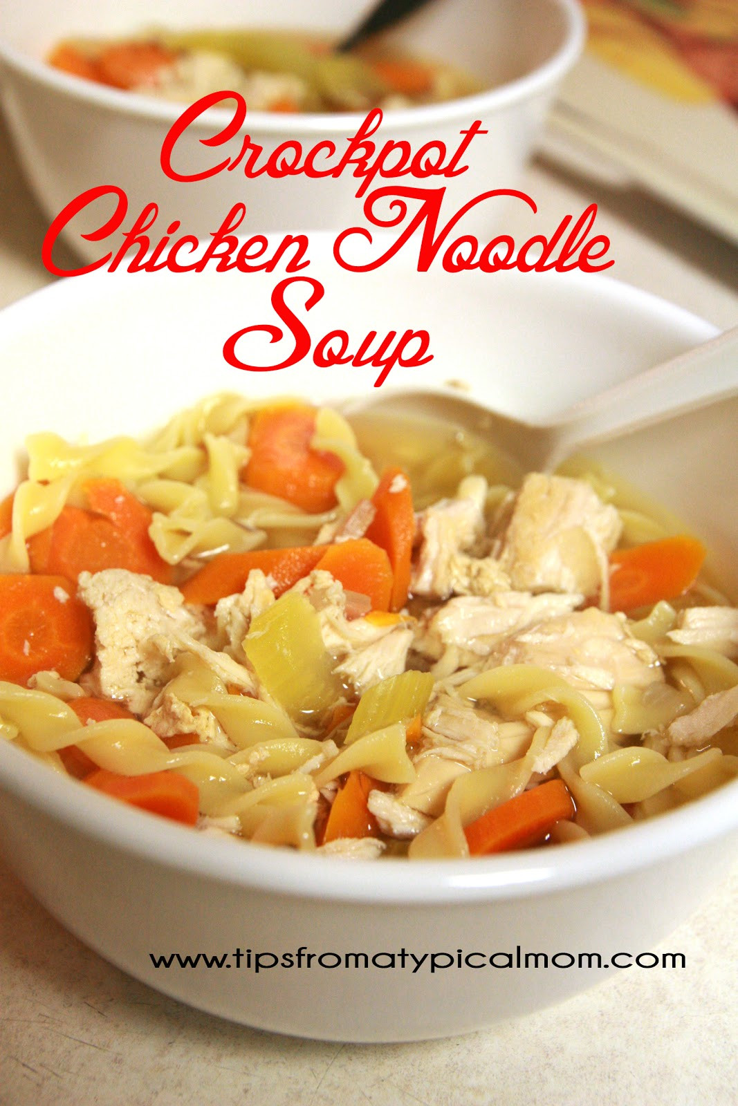 Swanson Chicken Noodle Soup  Crockpot Chicken Noodle Soup Recipe Tips from a Typical Mom