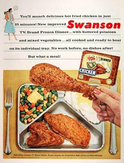 Swanson Frozen Dinners  Swanson Tv Dinners