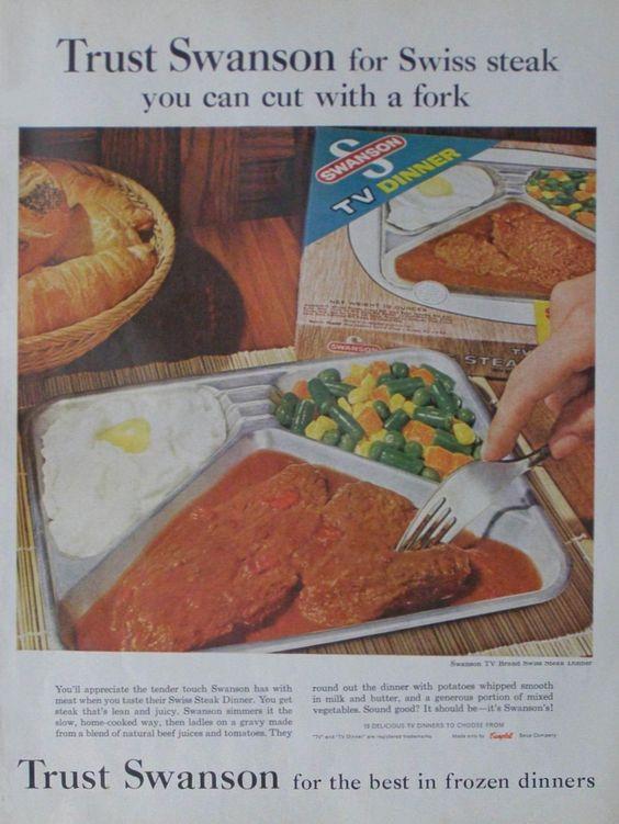 Swanson Frozen Dinners  Pinterest • The world's catalog of ideas