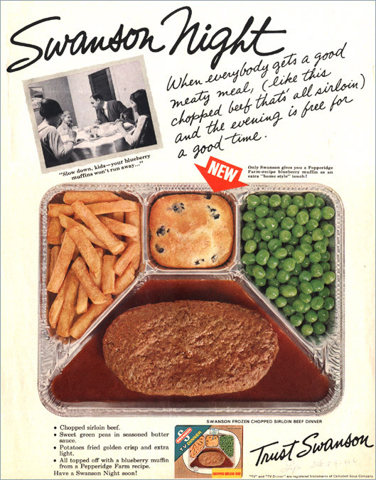 Swanson Frozen Dinners  Privet and Holly Dinner for Three and GIVEAWAY Winner