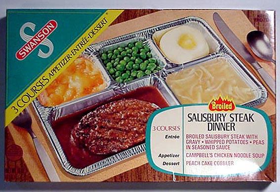 Swanson Frozen Dinners  TV Dinners