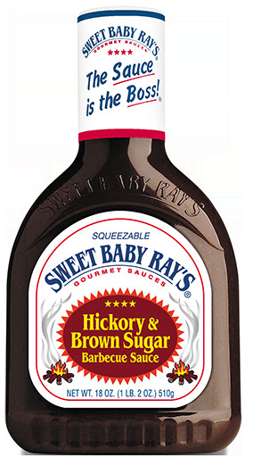 Sweet Baby Ray'S Bbq Sauce  Sweet Baby Ray s Hickory & Brown Sugar Barbecue Sauce