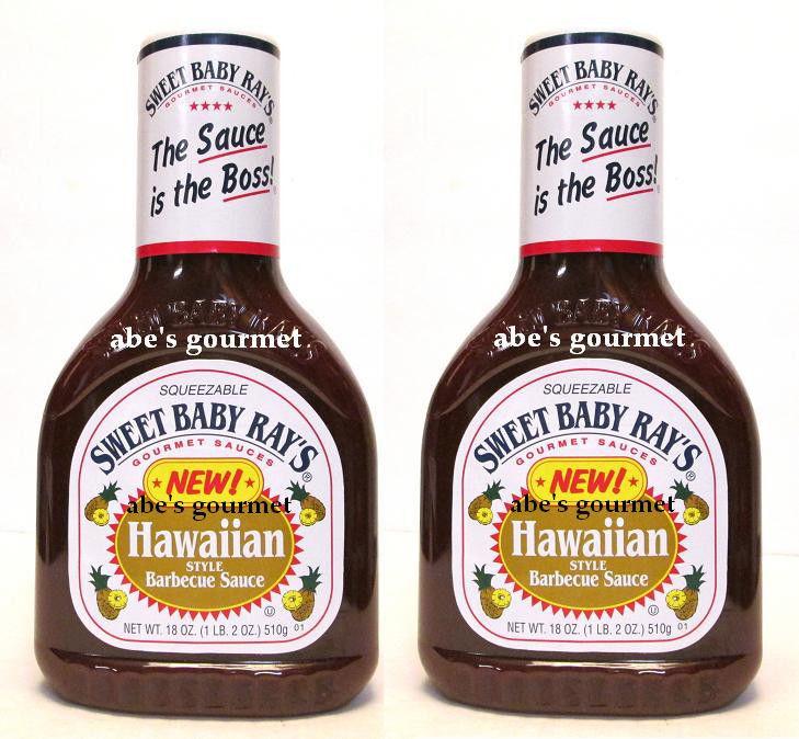 Sweet Baby Ray'S Bbq Sauce  Sweet Baby Ray s Barbecue Sauce Hawaiian Style 2 Pack