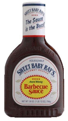 Sweet Baby Ray'S Bbq Sauce  Sweet Baby Ray s Original BBQ Sauce 28 oz Squeeze Bottle