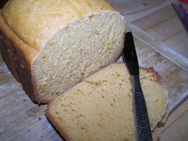 Sweet Bread Machine Recipes  Sweet Cornbread Bread Machine Recipe Food