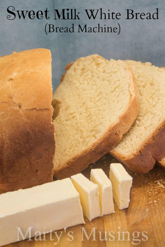 Sweet Bread Machine Recipes  Sweet White Bread Recipe for the Bread Machine
