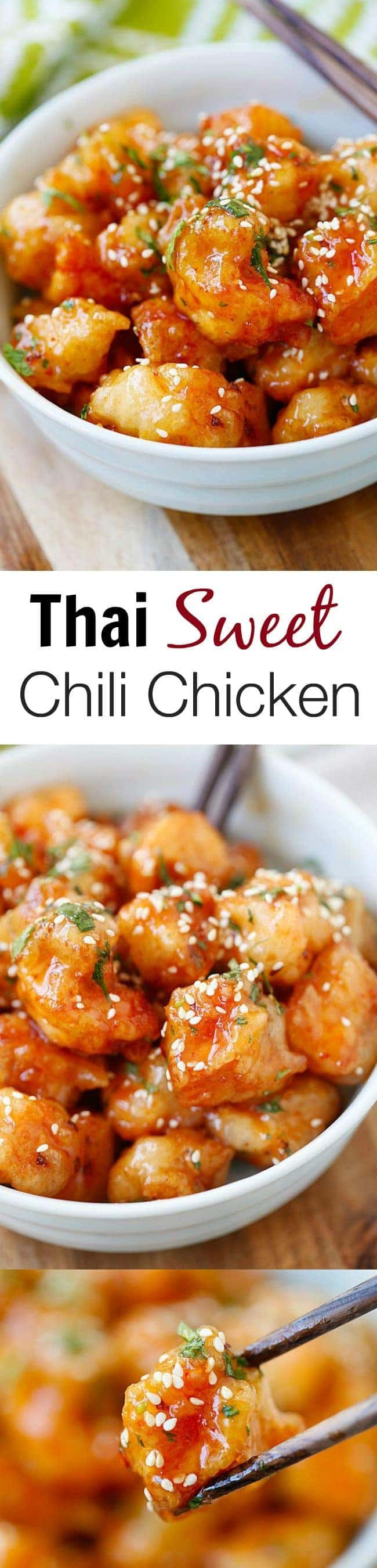 Sweet Chili Chicken  Thai Sweet Chili Chicken