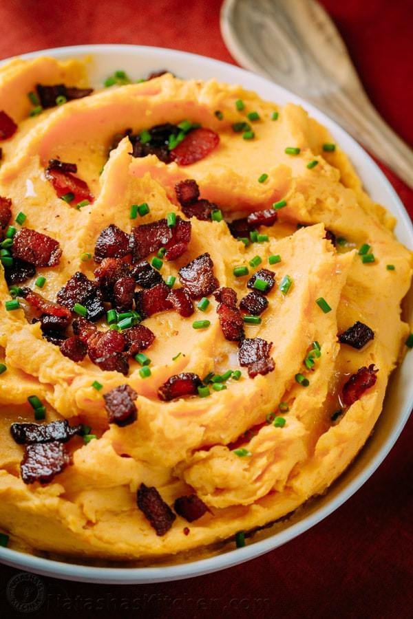 Sweet Mash Potato Recipes  Mashed Sweet Potatoes Recipe Yukon Sweet Potato Mash
