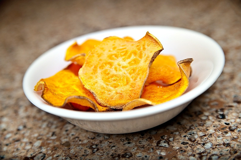 Sweet Potato And Diabetes  Diabetic Recipe Baked Sweet Potato Chips Recipes for