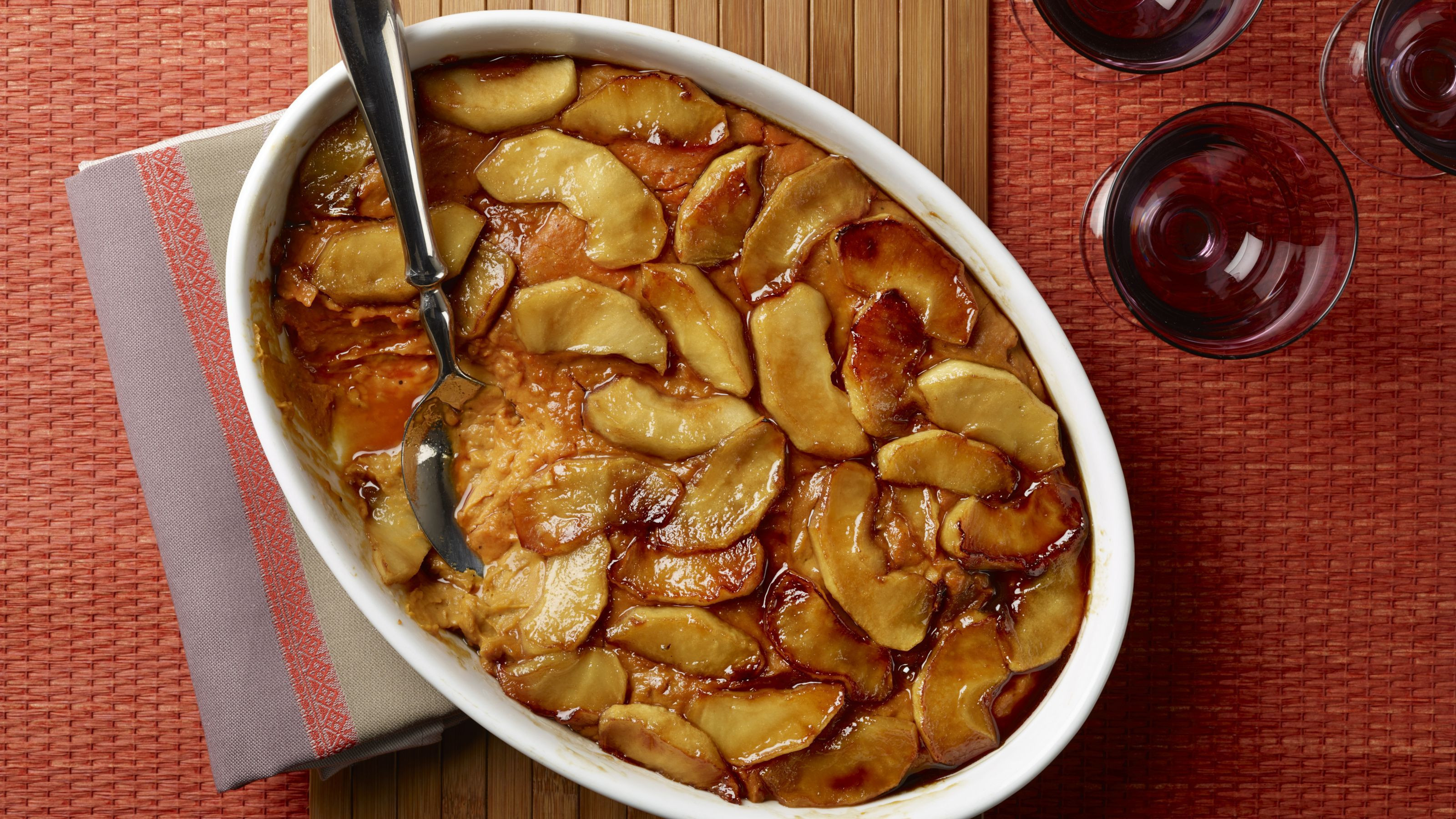 Sweet Potato Apple Cassarole  Recipe Sweet Potato Casserole with Caramelized Apples