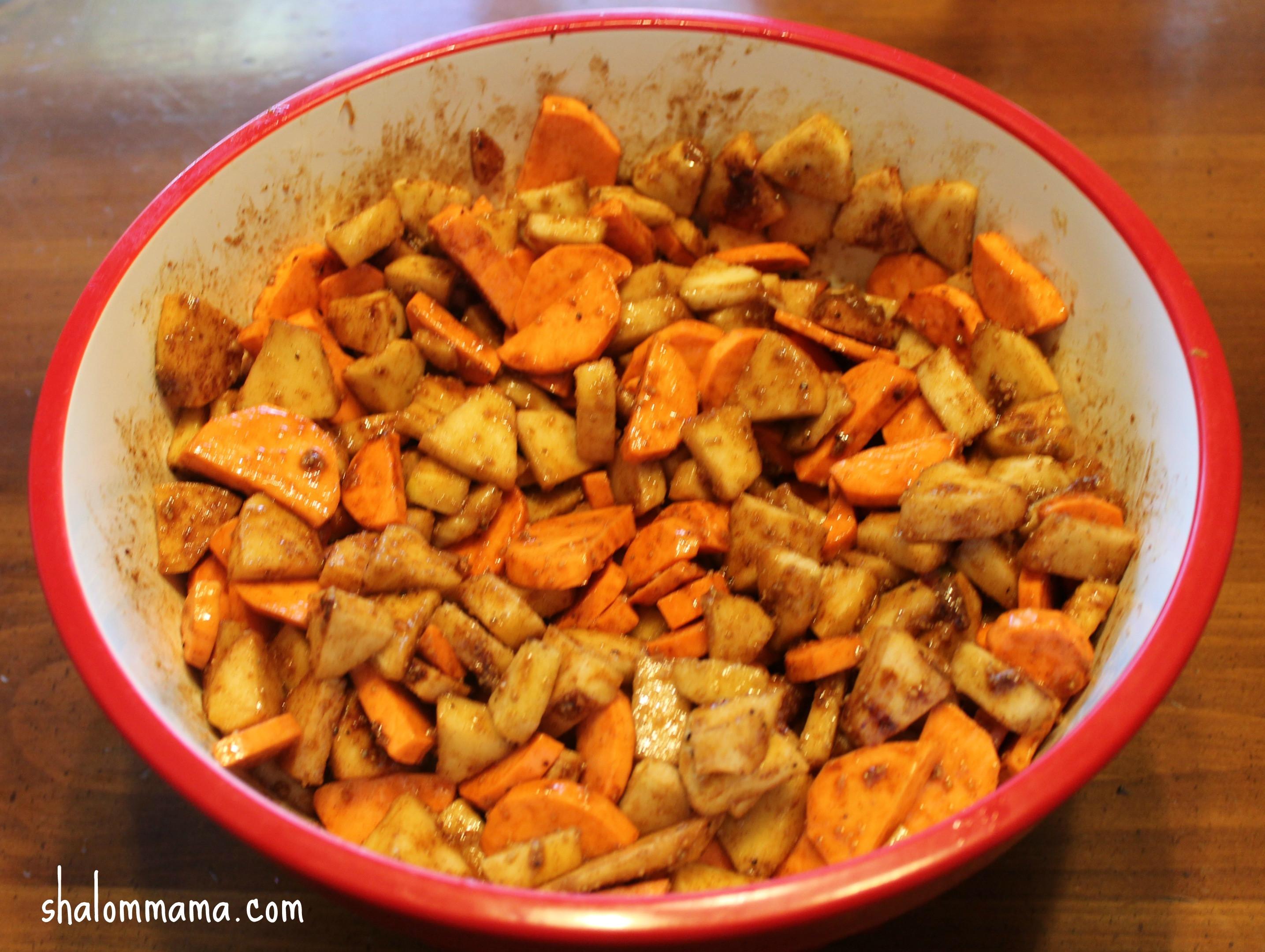 Sweet Potato Apple Casserole  Simple Sweet Potato Apple Casserole Recipe Shalom Mama