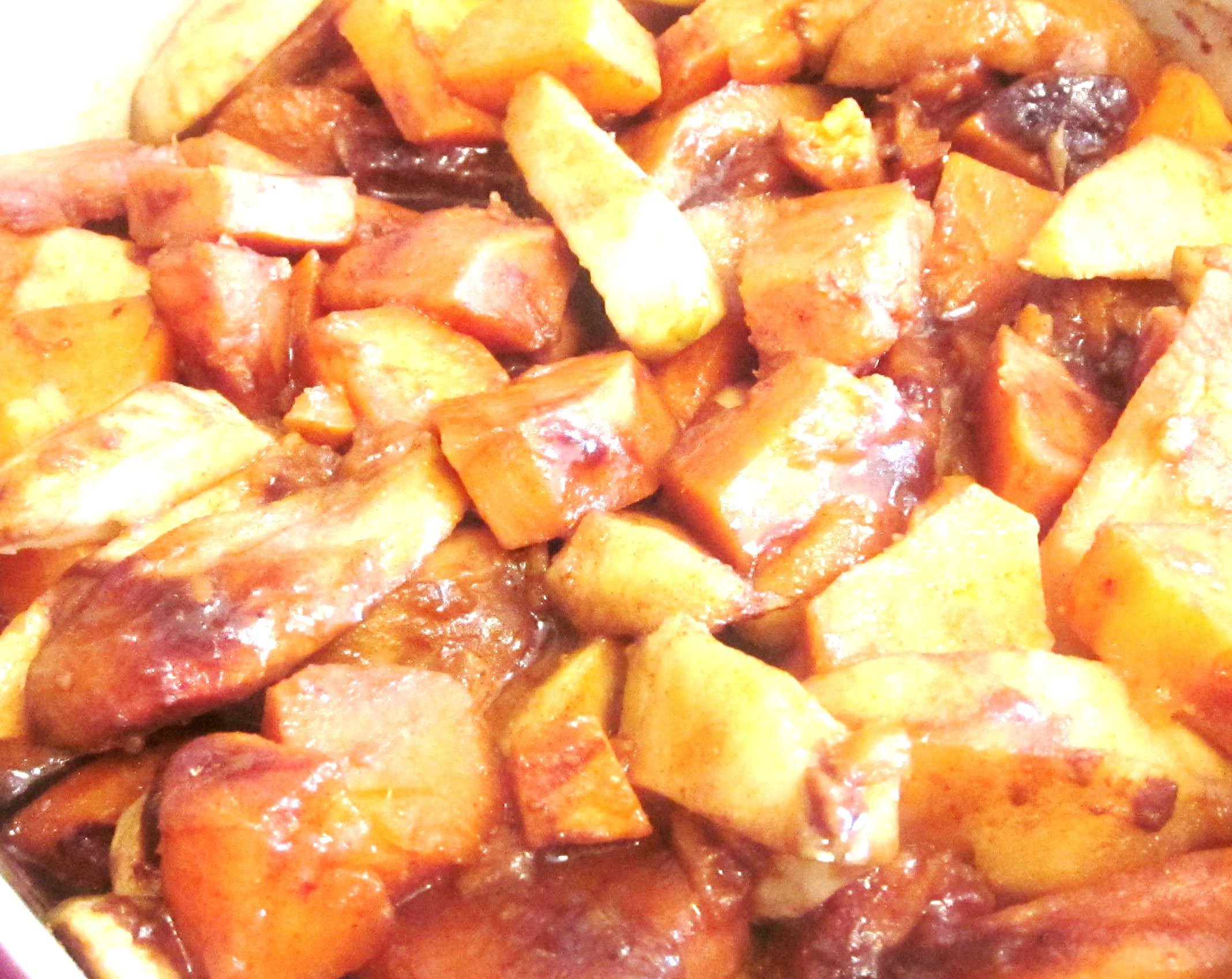 Sweet Potato Apple Casserole  Sweet Potato & Apple Casserole GoFitMom
