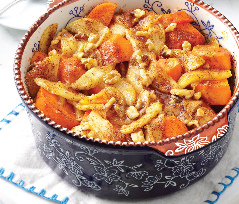 Sweet Potato Apple Casserole  Apple Sweet Potato Bake