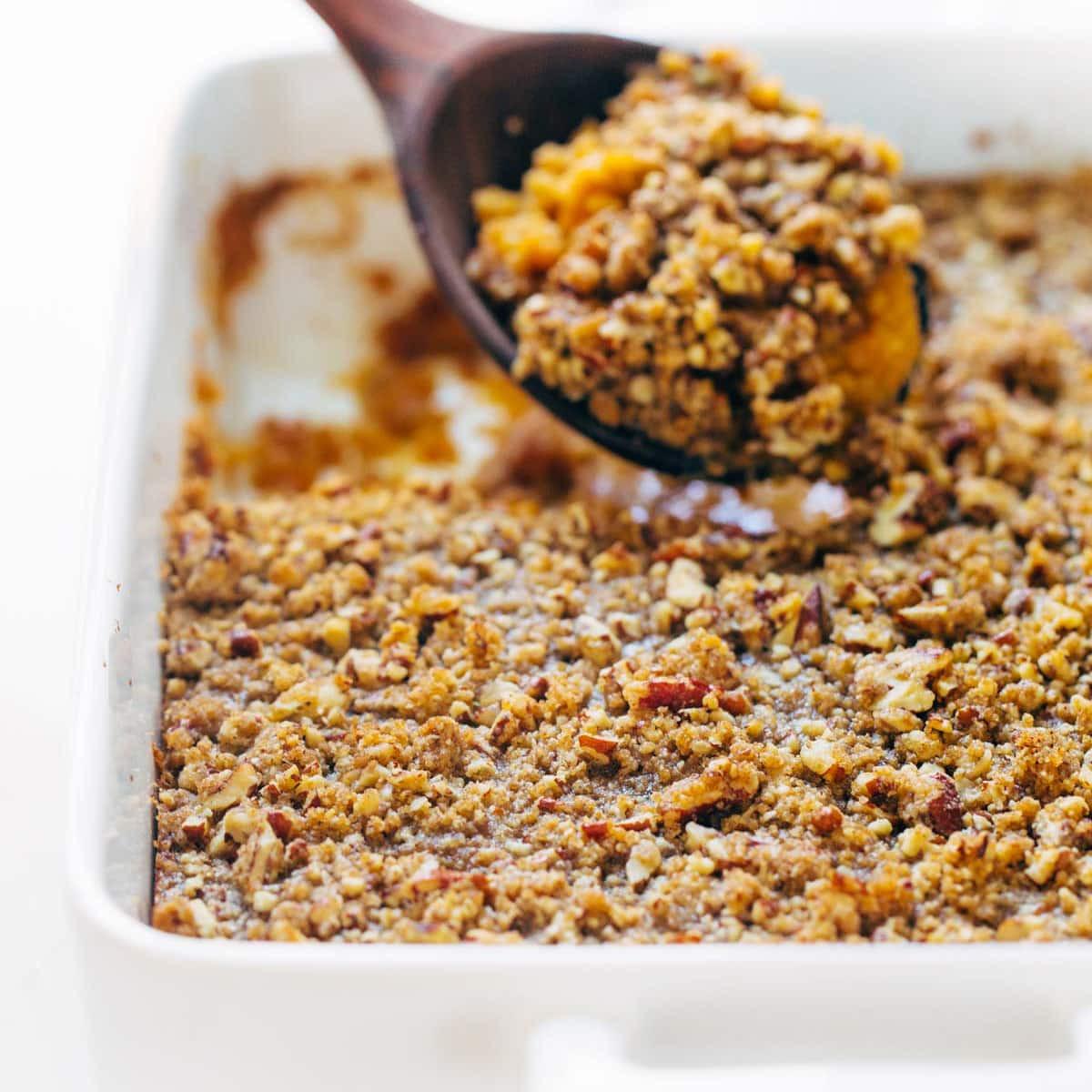 Sweet Potato Bake  Sweet Potato Casserole with Brown Sugar Topping Recipe