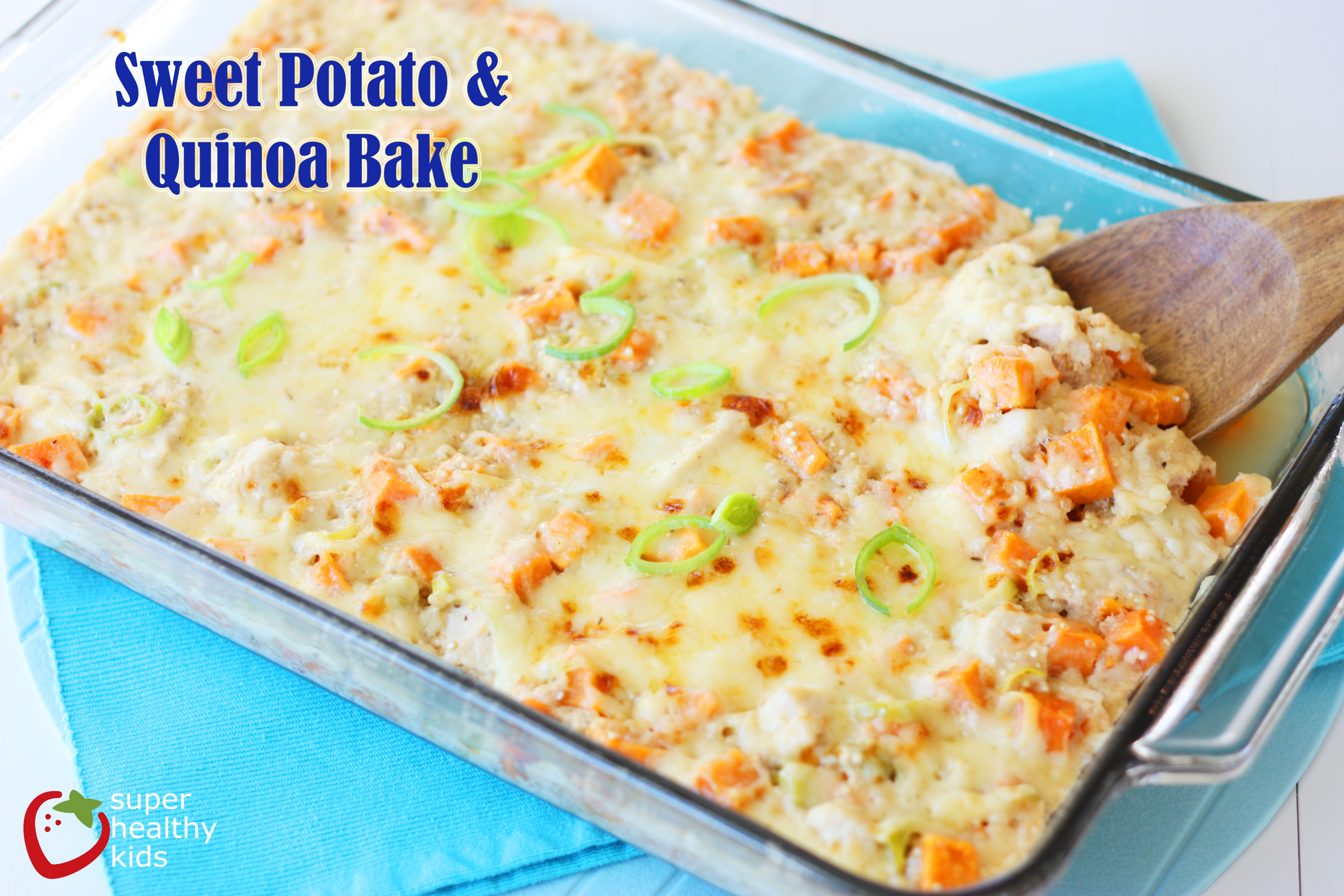Sweet Potato Bake  Sweet Potato Quinoa Bake Recipe