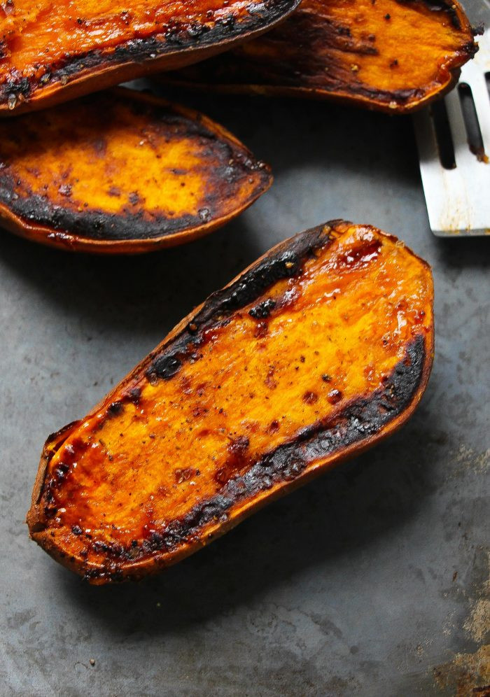 Sweet Potato Bake Time  Perfect 30 Minute Baked Sweet Potatoes Layers of Happiness