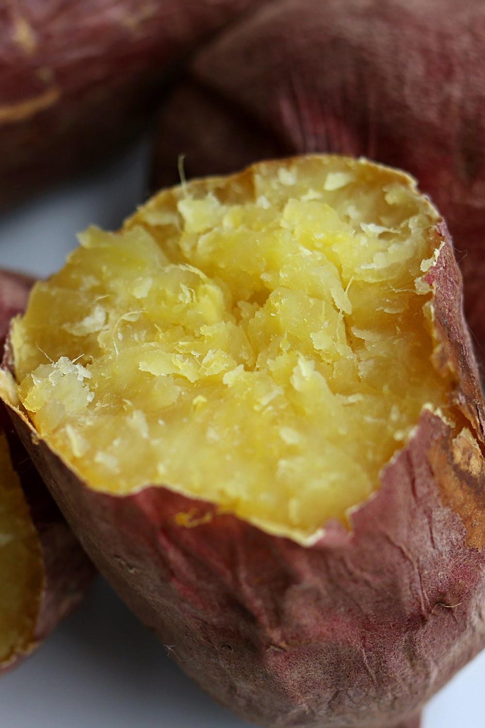 Sweet Potato Bake Time  Baked Japanese Sweet Potato Yam