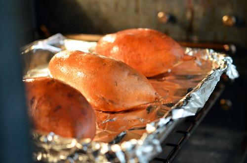 Sweet Potato Bake Time  Baked Yams Sweet Potatoes Nom Nom Paleo