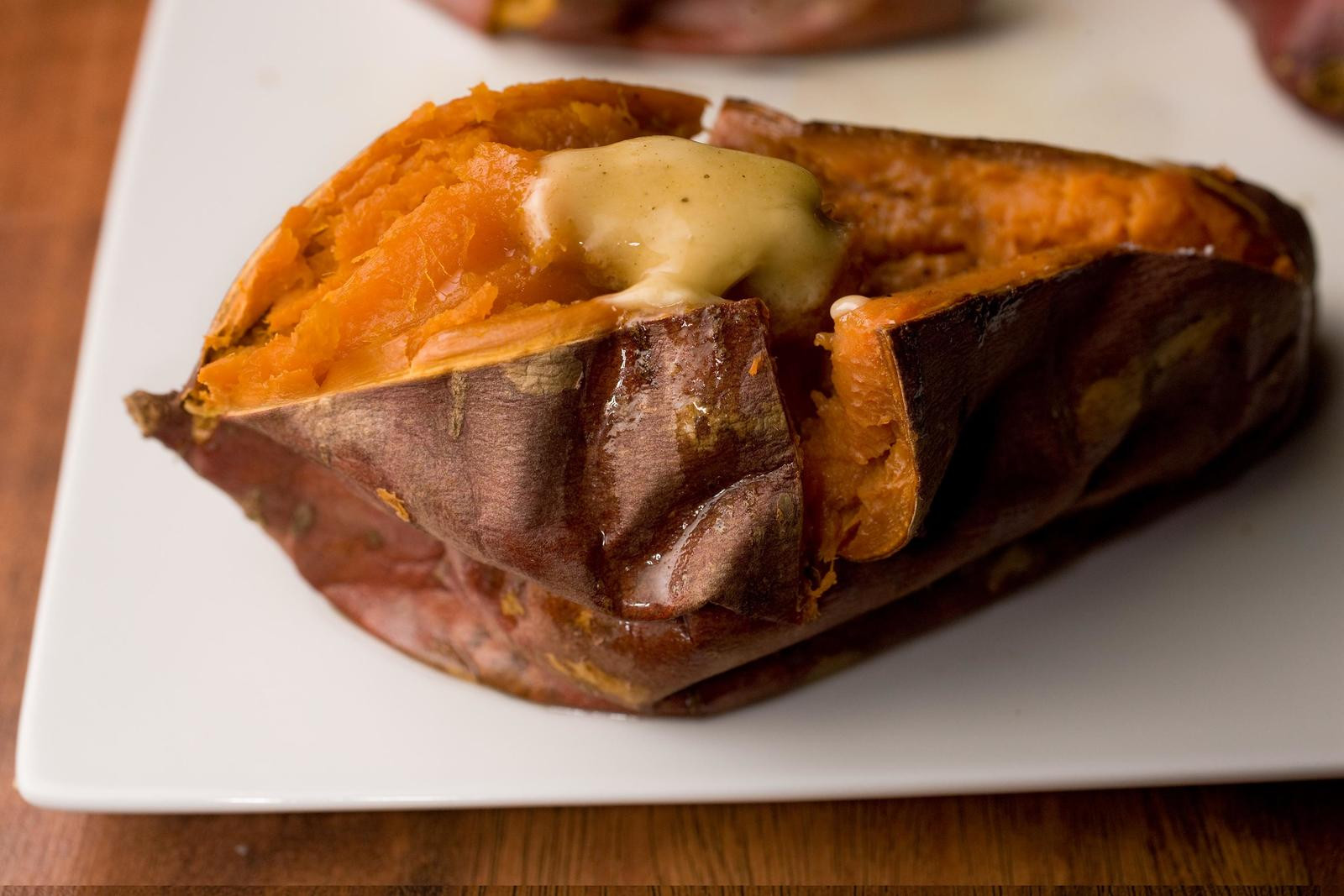 Sweet Potato Baked  Baked Sweet Potato Recipe Chowhound