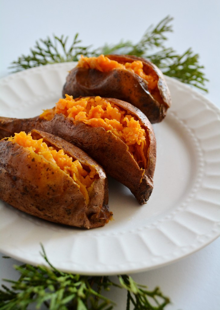 Sweet Potato Baked  cinnamon butter baked sweet potatoes – breaking bread xo