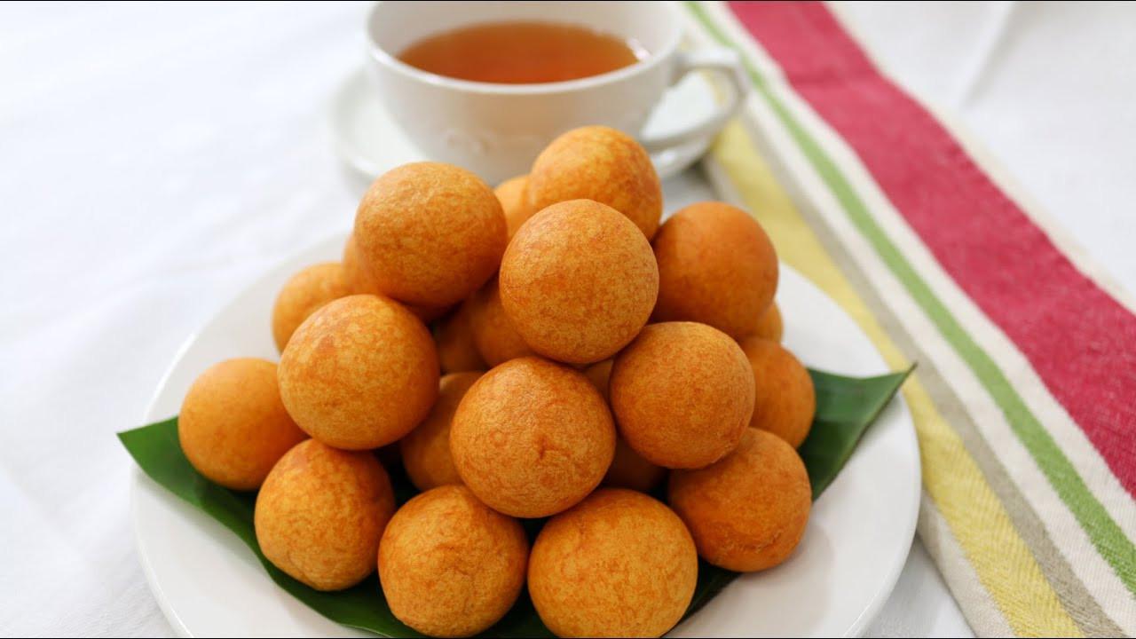Sweet Potato Balls  deep fried sweet potato balls