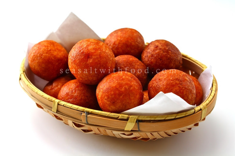 Sweet Potato Balls  Seasaltwithfood Fried Sweet Potato Balls