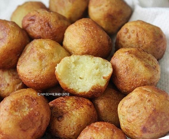 Sweet Potato Balls  I Love I Cook I Bake Pahang MFF Fried Sweet Potato Balls