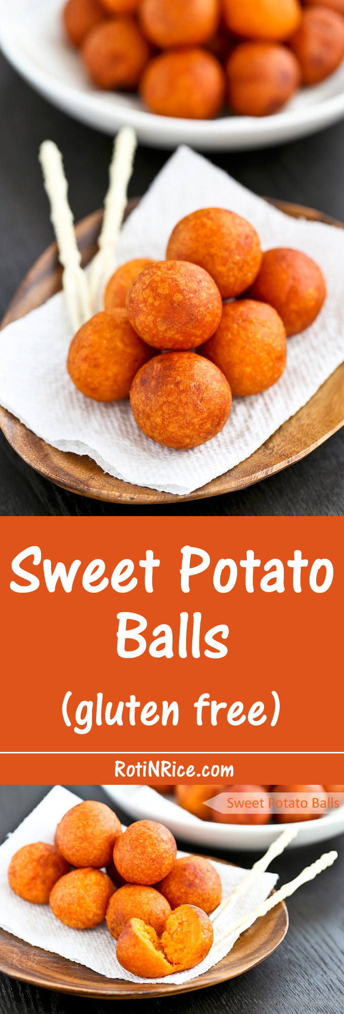 Sweet Potato Balls  Sweet Potato Balls