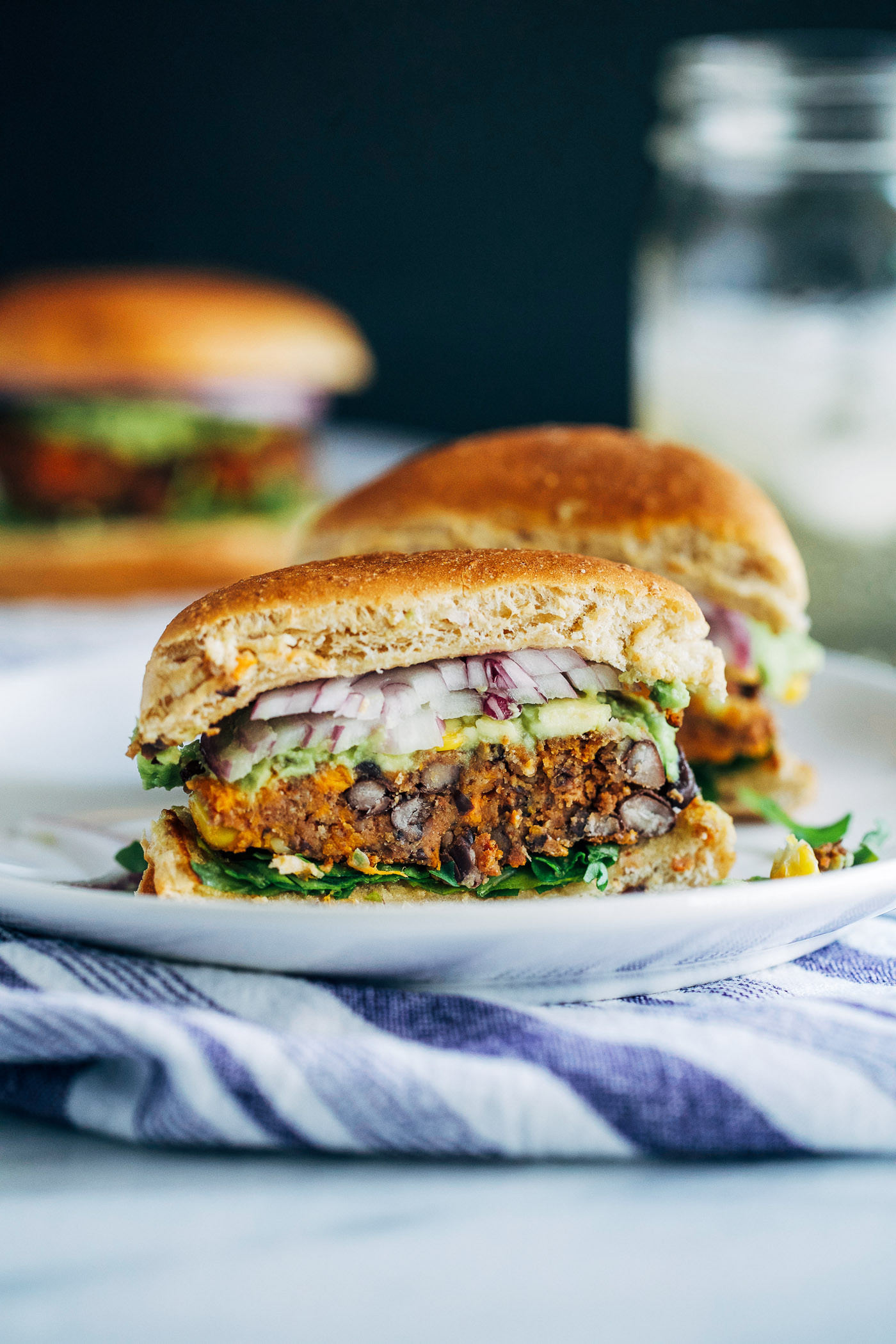 Sweet Potato Black Bean  Sweet Potato Black Bean Burgers Making Thyme for Health