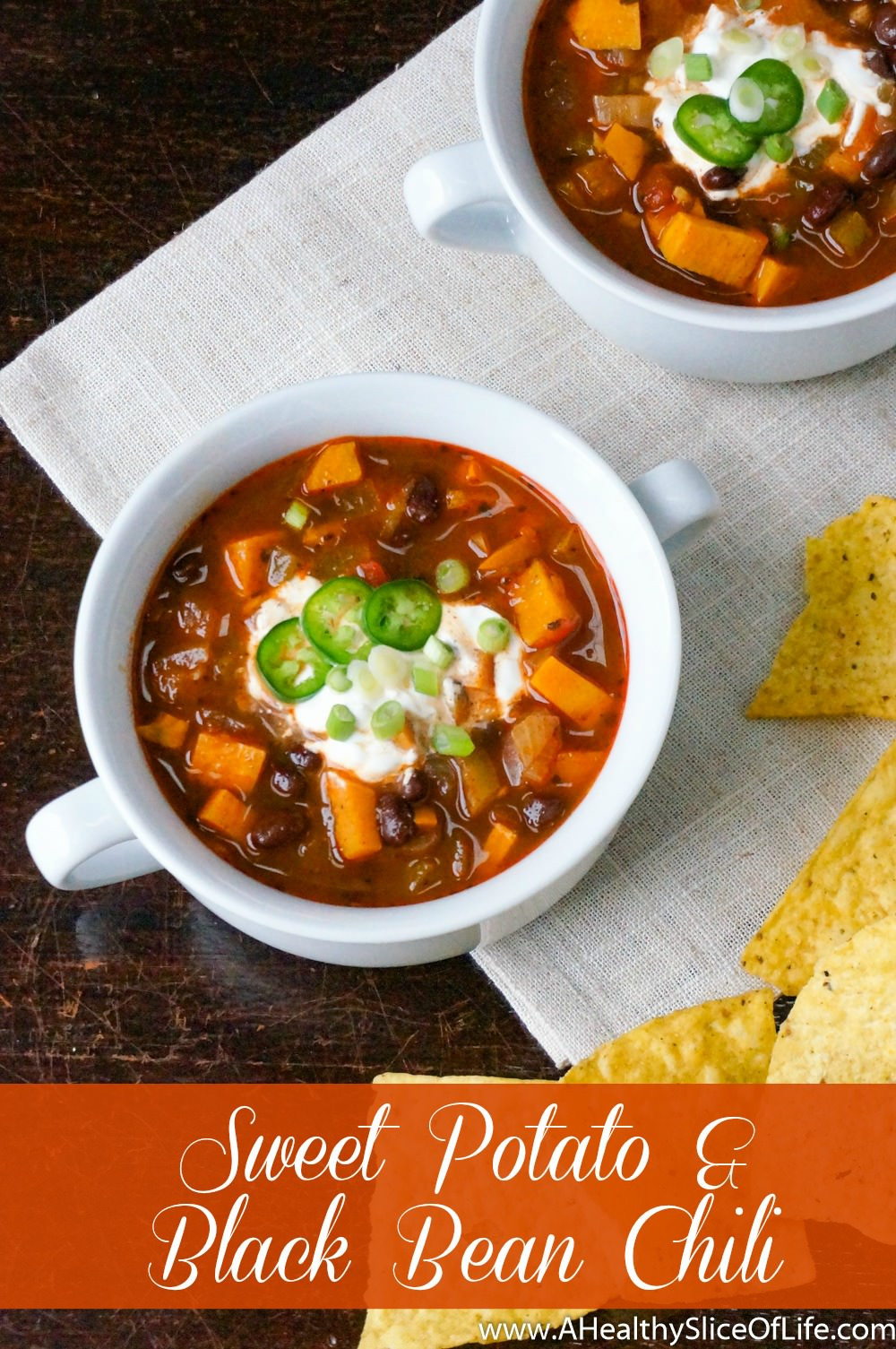 Sweet Potato Black Bean Chili  Spicy Sweet Potato & Black Bean Chili