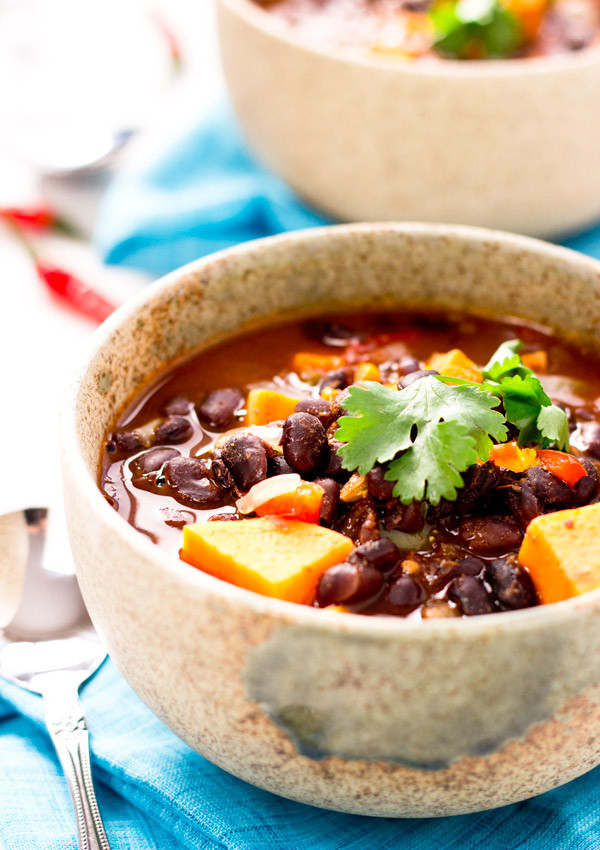 Sweet Potato Black Bean Chili  Sweet Potato Black Bean Chili