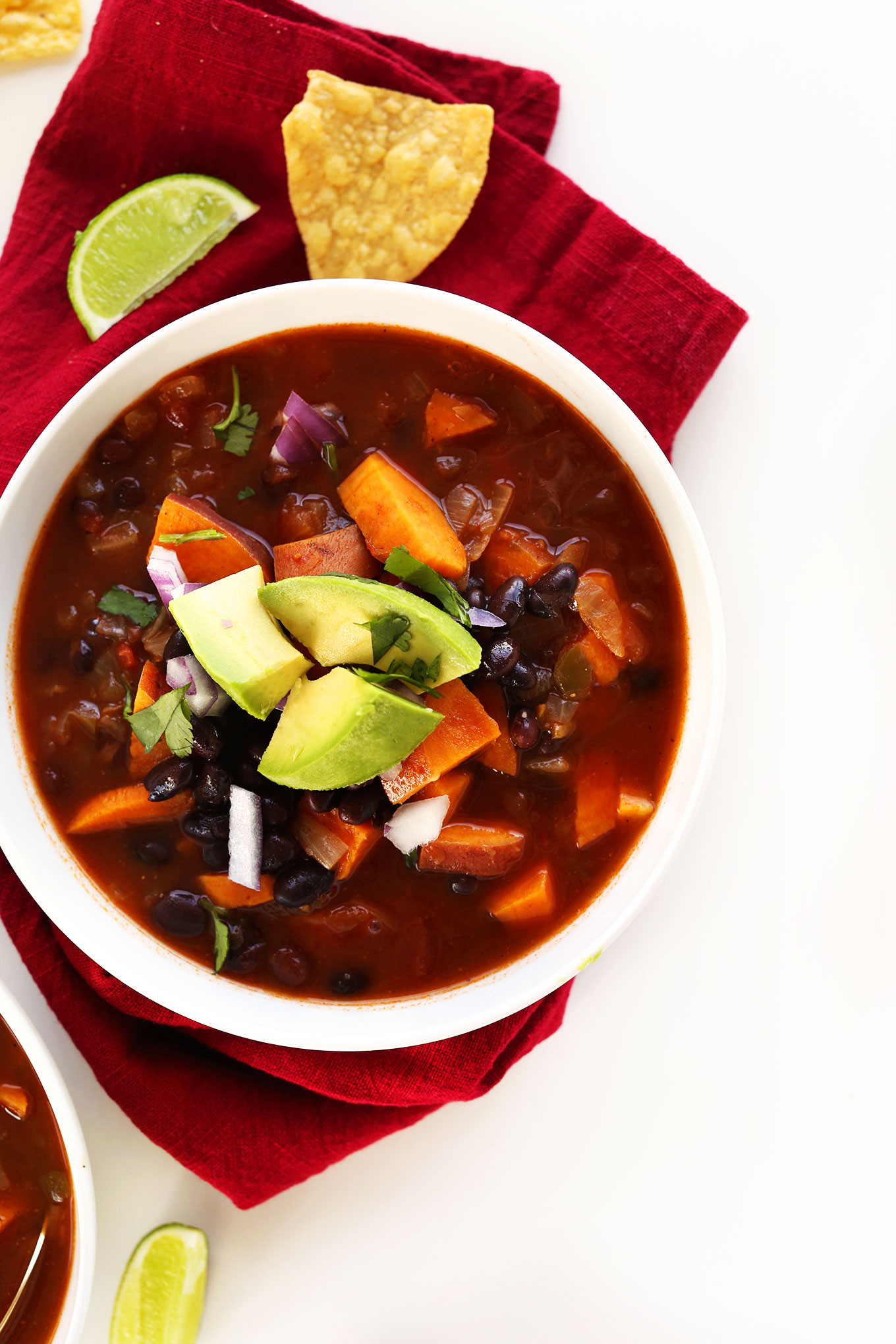Sweet Potato Black Bean Chili  5 Ingre nt Black Bean Chili