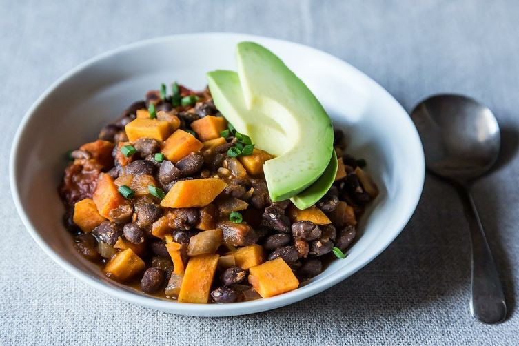 Sweet Potato Black Bean Chili  Smoky Black Bean and Sweet Potato Chili Recipe on Food52