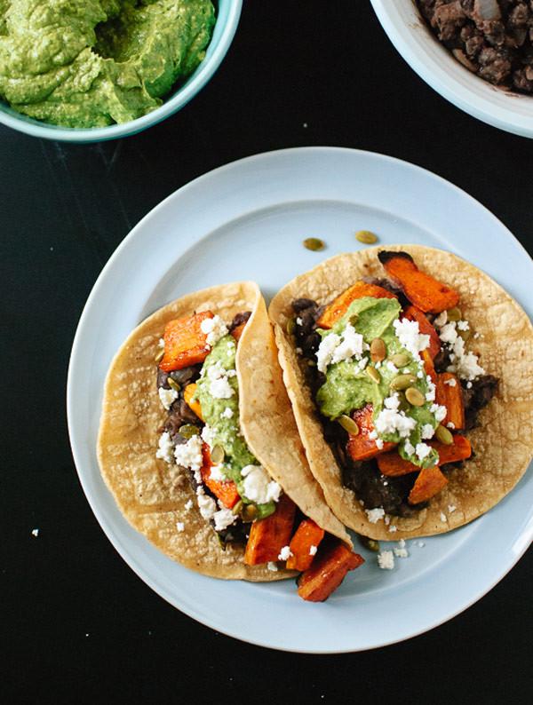 Sweet Potato Black Bean Tacos  Taco Night Reinvented 20 Cinco de Mayo Taco Recipes