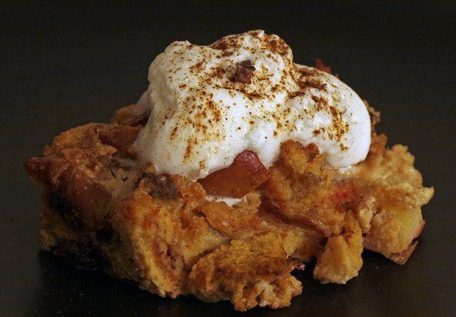 Sweet Potato Bread Pudding  Sweet Potato Bread Pudding Sneaks Super Foods into Dessert