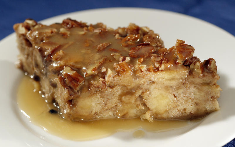 Sweet Potato Bread Pudding  Recipe Zea s sweet potato bread pudding with rum sauce