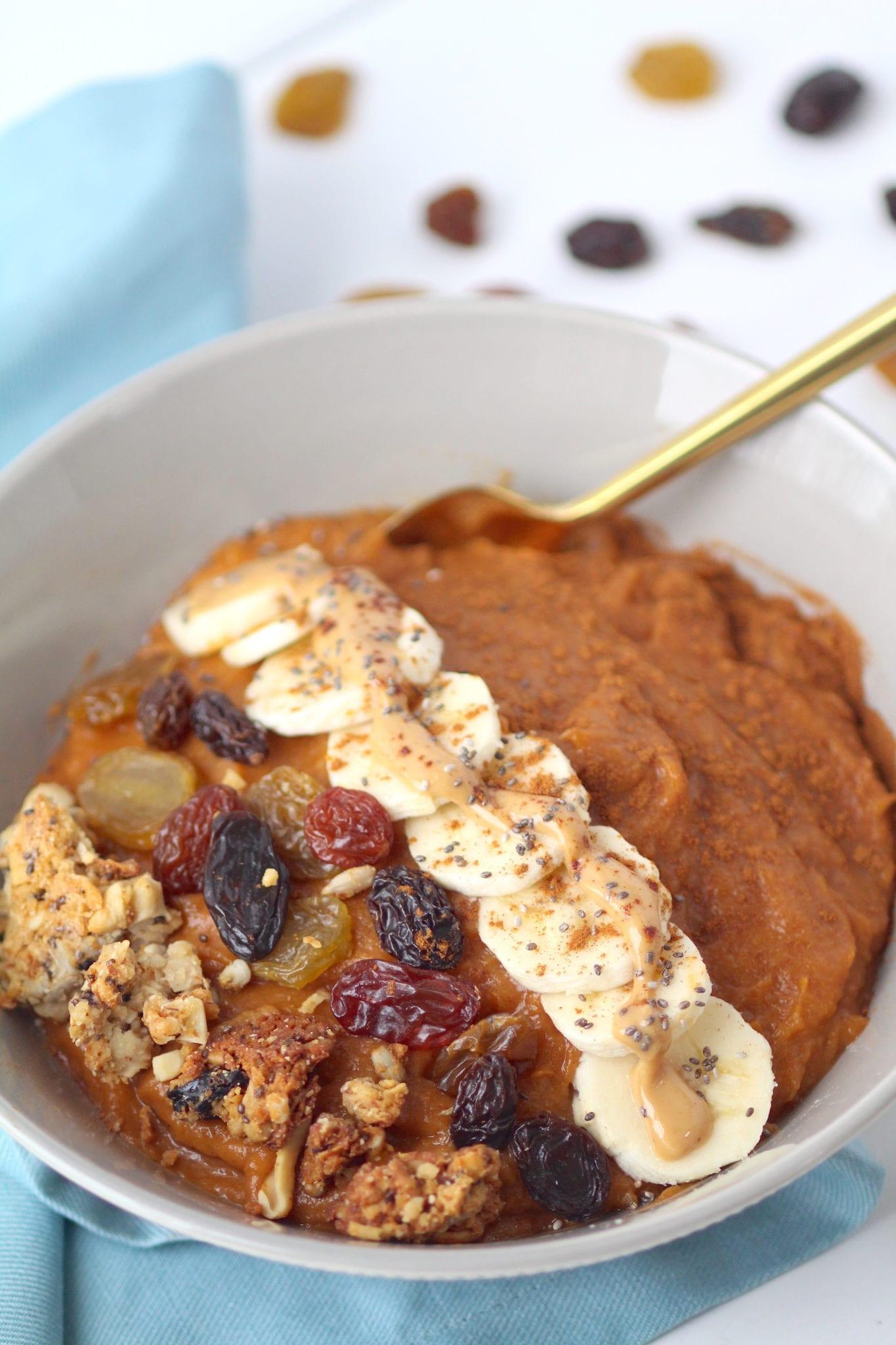 Sweet Potato Breakfast  Simple Sweet Potato Breakfast Bowl Whole30 Paleo