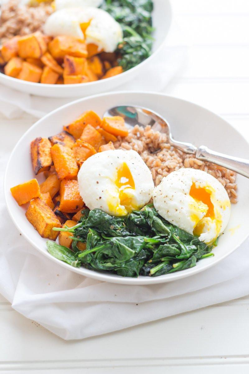 Sweet Potato Breakfast  Curried Sweet Potato Breakfast Bowls