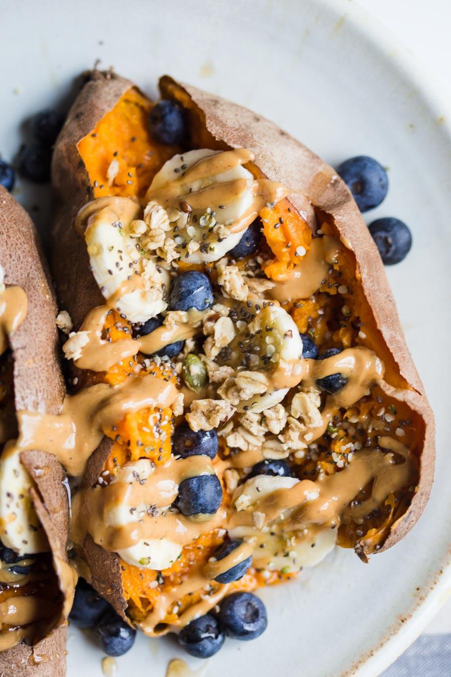 Sweet Potato Breakfast  Loaded Breakfast Sweet Potatoes