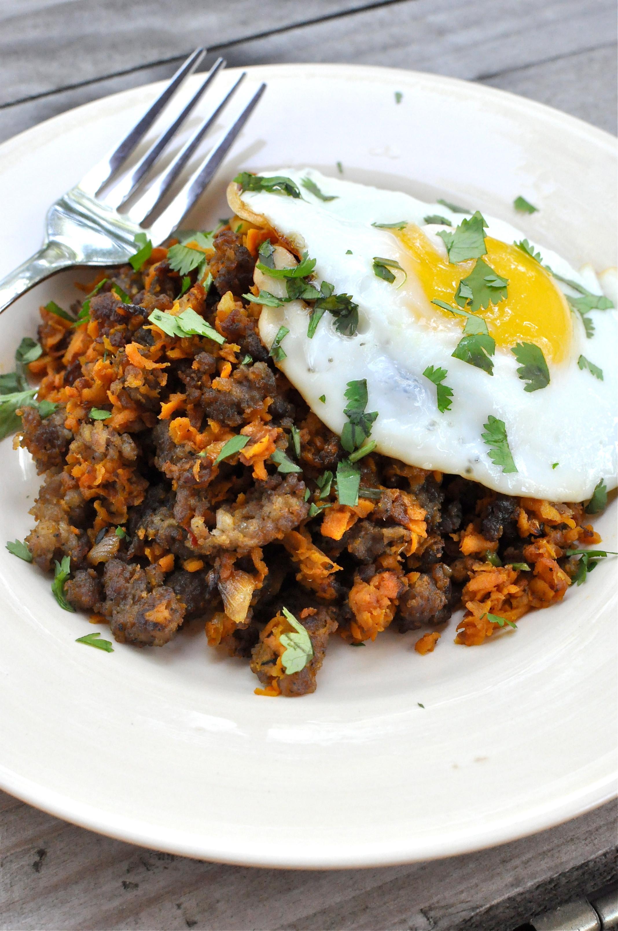 Sweet Potato Breakfast  Paleo Sweet Potato Breakfast Hash Fed & Fit