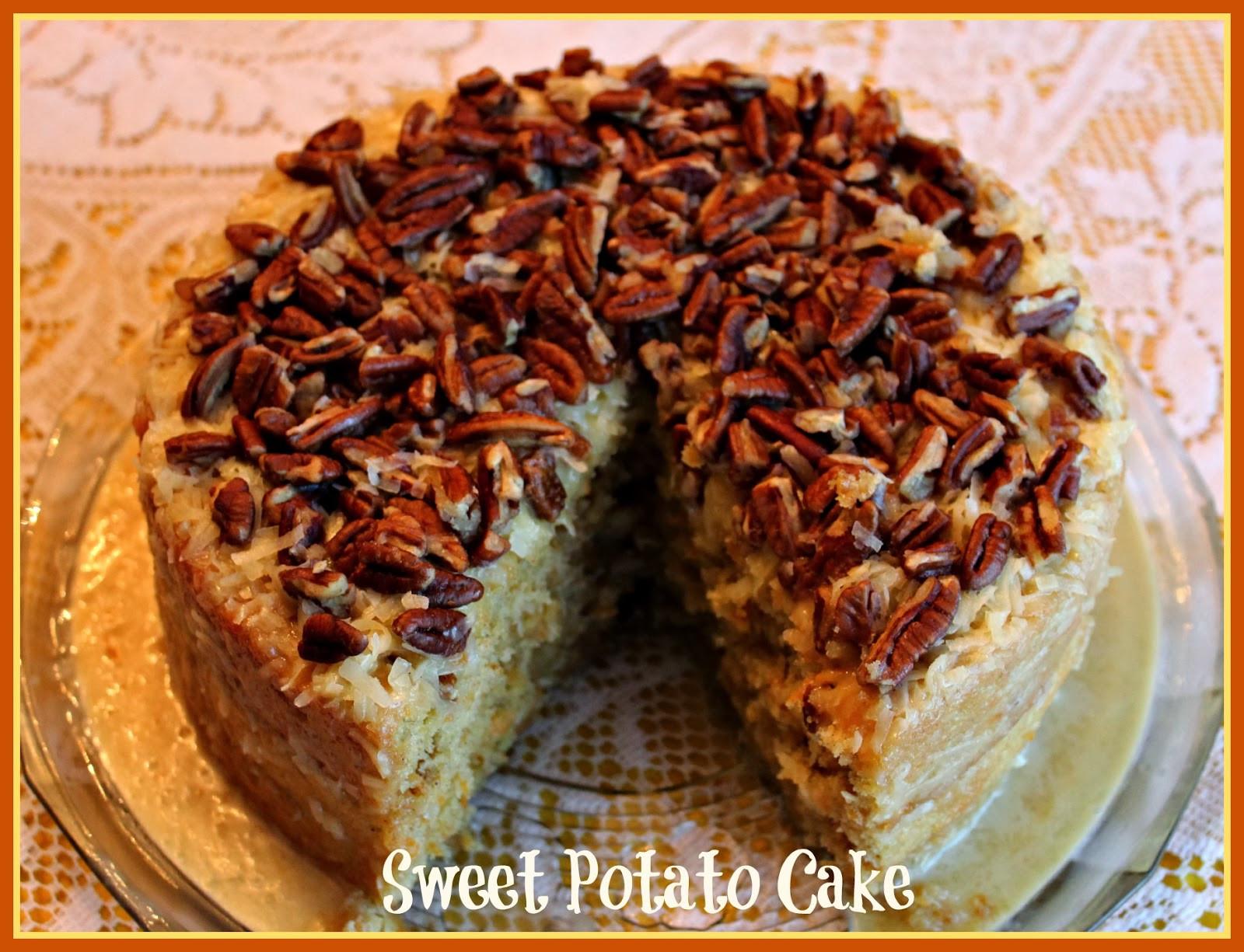 Sweet Potato Cake  Sweet Tea and Cornbread Sweet Potato Cake