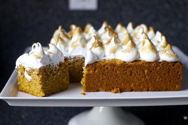 Sweet Potato Cake  sweet potato cake with marshmallow frosting – smitten kitchen