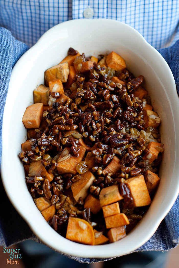 Sweet Potato Casserole With Pecans  Paleo Sweet Potato Casserole with Pecans