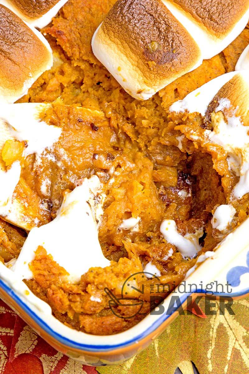 Sweet Potato Casserole With Pineapple  Sweet Potato Pineapple Casserole The Midnight Baker