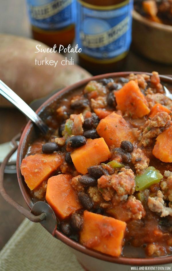 Sweet Potato Chili  gwyneth paltrow turkey sweet potato chili