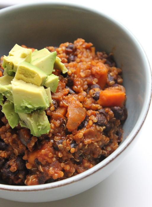 Sweet Potato Chili  Vegan Quinoa & Sweet Potato Chili – Milk Free Mom